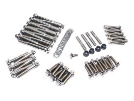 ARP 12 Point Engine Fastener Show Bike Kit. Fits Twin Cam Models 1999-2017.