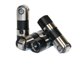 Race Series Tappets with Short Travel. Fits Twin Cam 1999-2017, Sportster 2000up & Buell 2000up.