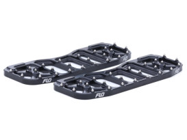 V5 Rider Floorboards - Black. Fits Touring 1982up & FL Softail 1986-2017.