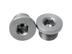Plugs; O2 Sensor Ports 18mm(Pair)