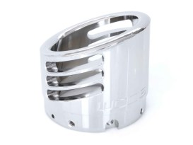 4in. Racing Muffler End Cap - Chrome.