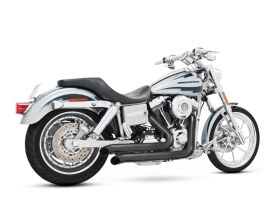 Declaration Turnouts Exhaust with Black Finish. Fits Dyna 2006-2017.