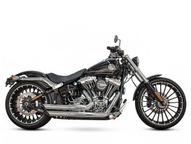 Amendment Exhaust with Chrome Finish. Fits Softail Breakout 2013-2017 & Rocker 2008-2011 Models.