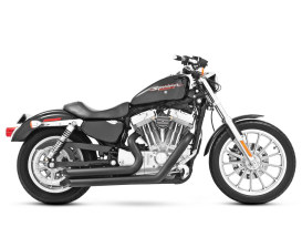 Amendment Exhaust - Black. Fits Sportster 2004up.