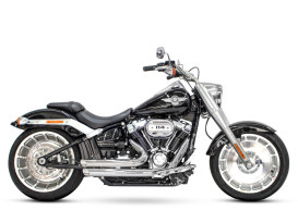 Amendment Exhaust with Chrome Finish. Fits M8 Softail 2018up.