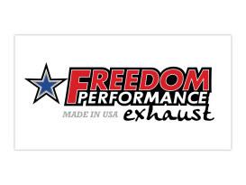 Freedom Performance Banner - White.