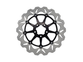 12.5in. Front Wave Floating Disc Rotor - Black. Fits Pan America 2021up with Spoke Wheels.