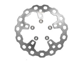 11.8in. Front Cubiq Disc Rotor - Stainless Steel. Fits Touring 2014up with OEM Wheel.