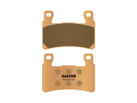Front Brake Pads. Fits Softail 2015up & XR1200 2008-2012. HH Sintered Compound.