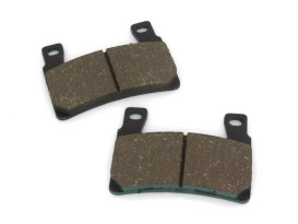 Front Brake Pads. Fits Softail 2015up & XR1200 2008-2012. Kevlar Compound.