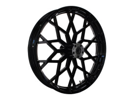 23in. x 3.75in. Marquise/Prodigy Replica Wheel - Gloss Black. Fits Touring 2008up.