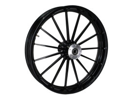 23in. x 3.75in. Tempest/Talon Replica Wheel - Gloss Black Powdercoat. Fits Touring 2008up.