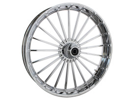 26in. x 3.75in. Ranger/Turbine Replica Wheel - Chrome. Fits Breakout 2013up.