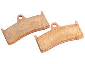 Brake Pads. Fits Hawg Halters 6 Piston Calipers.