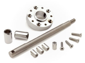 Wide Glide Conversion Hardware Kit - Chrome. Fits Sportster & Dyna 1995-1999.
