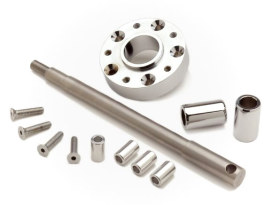 Wide Glide Conversion Hardware Kit - Chrome. Fits Dyna 2008-2011.