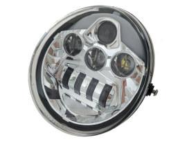 5-3/4in. LED HeadLight Insert with DRL - Chrome. Fits VRSCDX 2012-2017 & VRSCF 2002-2017.