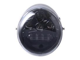 5-3/4in. LED HeadLight Insert with DRL - Black. Fits VRSCDX 2012-2017 & VRSCF 2002-2017.