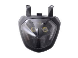 LED Headlight Insert - Black. Fits Yamaha FZ07 2014-2017 & MT07 2014-2017