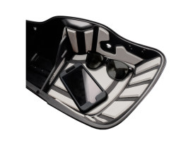 Ryt-There Saddle Bag Shelf - Grey. Fits Touring 2014up Left & Right Bags.