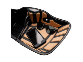 Ryt-There Saddle Bag Shelf - Tan. Fits Touring 2014up Left & Right Bags.