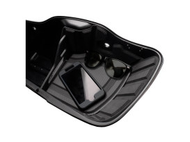 Ryt-There Saddle Bag Shelf - Charcoal. Fits Touring 2005-2013 Left & Right Bags.