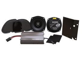 Hogtunes XL, 225 Watt Amp x 2 Speaker Kit. Fits Road Glide 1998-2013.