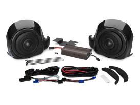 Wild Boar, 300 Watt Amp x 2 Speaker Lower Fairing Kit. Fits 2014up Touring with Fairing Lowers.