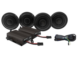 Wild Bore, 600 Watt Amp x 4 Speaker Kit. Fits 2014up Touring Ultra Models.