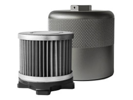HyperFlow Reusable Oil Filter. Fits Big Twin & Sportster 1984up.