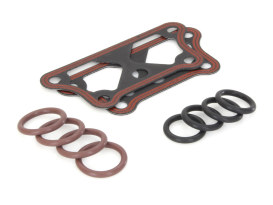 Tappet & Push Rod Cover Kit. Fits Sportster 2004up.