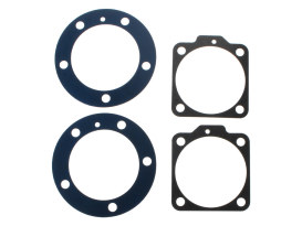 Cylinder Head & Base Gasket Kit. Fits Fits Big Twin 1966-1984 with Shovel Engine.