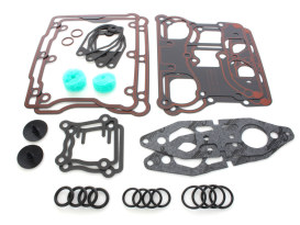 Rocker Cover Gasket Kit. Fits Big Twin 1999-2017 with Twin Cam Engine.