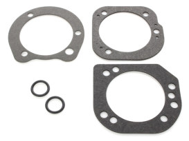 Air Filter Backplate Gasket Kit. Fits Softail & Dyna 2006up & Touring 2006-2007.