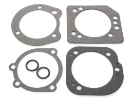 Air Filter Backplate Gasket Kit. Fits Big Twin & Sportster 1995-2006.