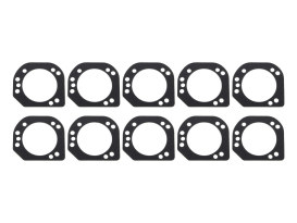 Air Filter Backplate to Throttle Body Gasket. Fits Big Twin 2006up.