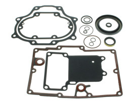 Transmission Gasket Kit. Fits Dyna 2006up & Softail 2007up with 6 Speed Transmission.