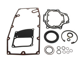 Transmission Gasket Kit. Fits Touring 2017up & Softail 2018up Models with 6 Speed Transmission.