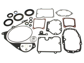 Transmission Gasket Kit. Fits Big Twin 1980-1999 with 5 Speed Transmission.