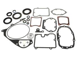 Transmission Gasket Kit. Fits 5Spd Touring 1980-1992, Softail 1986-1999 & FXR 1982-1994.