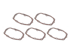 Transmission Bearing Cover Gasket - Pack of 5. Fits 5Spd Big Twin 1979-1998.