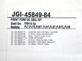 35mm Fork Tube Seal Kit. Fits Sportster & FXR 1984-1987.