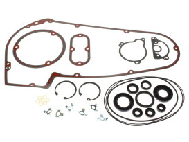 Primary Cover Gasket Kit. Fits Big Twin 1965-1986 with 4 Speed Transmission & Softail 1984-1988 Models.