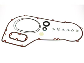 Primary Cover Gasket Kit. Fits Softail & Dyna 1989-1993.