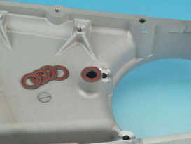 Inspection Cover Shift Boss Gasket. Fits Big Twin 2007up & Dyna 2006up with OEM 6 Speed Transmission.