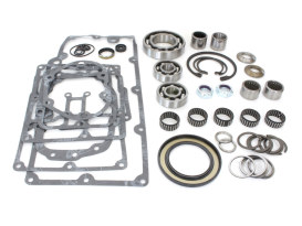 Transmission Rebuild Kit. Fits big Twin 1999-2006 with Twin Cam Engine & 5 Speed Transmission.