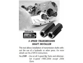 Tool; Trans Shaft Seal Installer; BT'80-06 5spd (exc FXD'06)