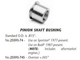 Bush; Pinion Shaft, XL'77up