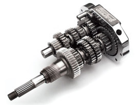 6 Speed Overdrive Transmission Cassette. Fits Softail 1990-1999, Dyna 1991-2000 & Touring 1990-2000 Models.