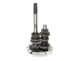 6 Speed Overdrive Transmission Cassette. Fits Softail 2000-2006, Dyna 2001-2005 & Touring 2001-2006 Models.